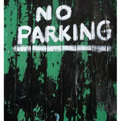 Don't Park Here!