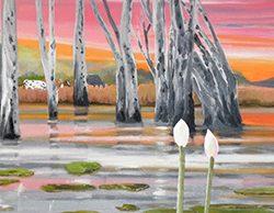 Lake Lily Sunset
