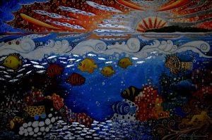Splashback Art by The Mural Shop
