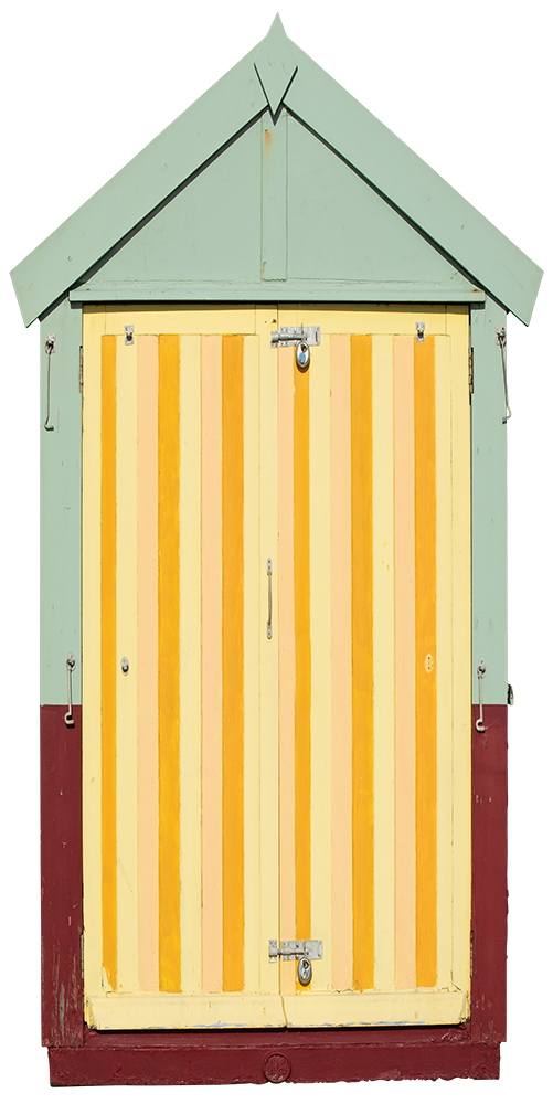 B06_beach_huts-door_deckles_by-Sharron-Tancred_#The-Mural_#Shop