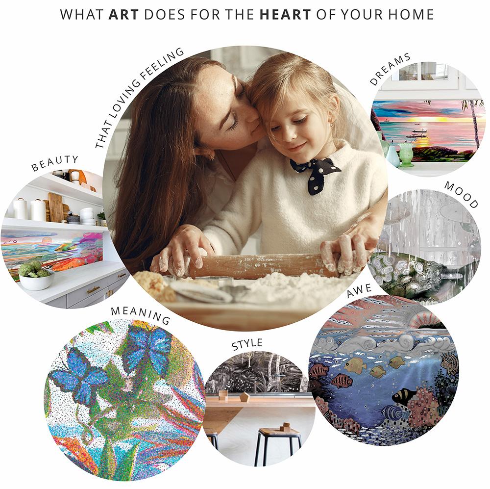 What_splashback_art does_for_kitchen_design-heart-by-Sharron-Tancred-#The_Mural_Shop-custom-splashback-murals