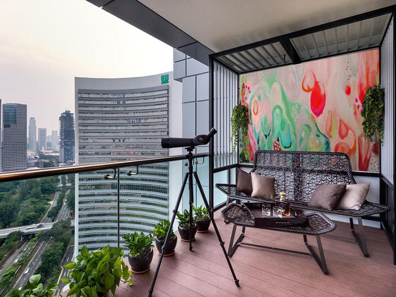 05-weatherproof-outdoor-art-for-high-,rise-balconies-and-verandahs-Sharron-Tancred-#The_Mural_Shop