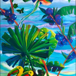 AM46-Toucan-Tropics-Left-Mosaic-Mural-by-Sharron-Tancred-The-Mural-Shop