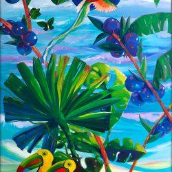 Toucan Tropics Left