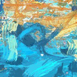Super Duper Fab Art in SeaBlues