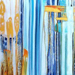 Tranquil Falls Aqua Speckle